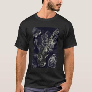 guitar with smoke T-Shirt