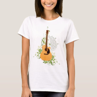 Guitar with Vines T-Shirt