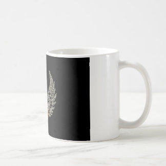Guitar with wings coffee mug