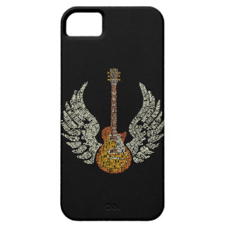 Guitar with wings iPhone SE/5/5s case