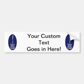 guitar word fill white on blue music image.png bumper stickers