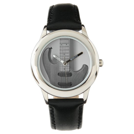 guitar wrist watch