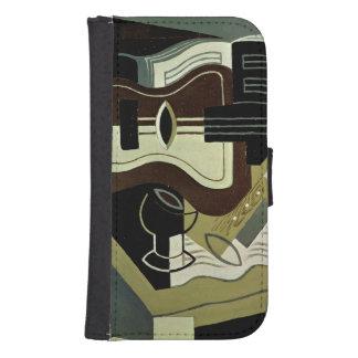 Guitar y Clarinet, 1920 Billeteras Para Teléfono