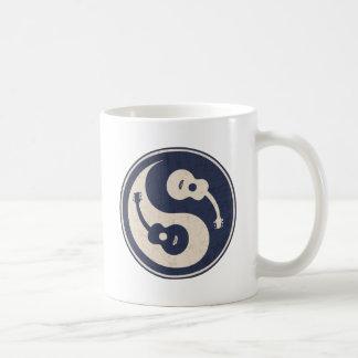 Guitar Yang -blue Coffee Mug