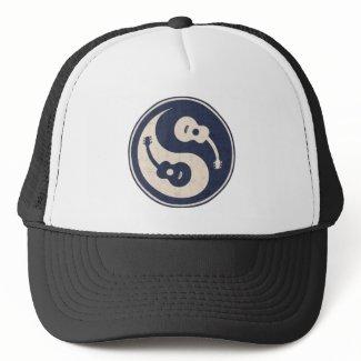 Guitar Yang -blue Mesh Hat