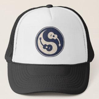 Guitar Yang -blue Trucker Hat