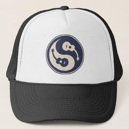 9991d9cb292 Guitar Yang -blue Trucker Hat