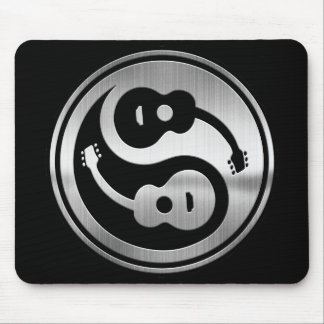 Guitar Yang Metal Mouse Pad