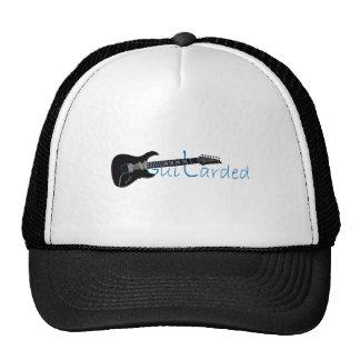 Guitarded Black Electric Guitar Mesh Hat