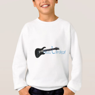 Guitarded Black Electric Guitar Sweatshirt