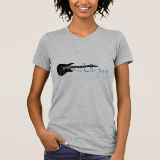 Guitarded Black Electric Guitar T Shirts