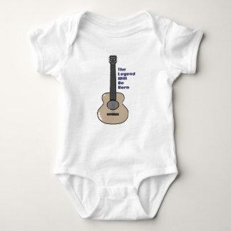 Guitarist baby baby bodysuit