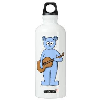 Guitarist Bear. Water Bottle
