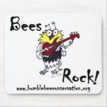 Guitarist Bee Mousepad