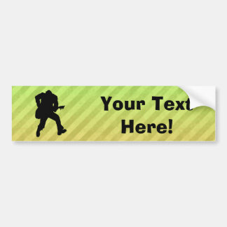 Guitarist Bumper Sticker