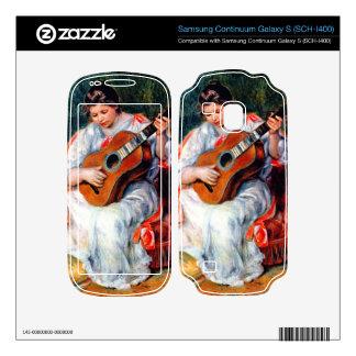 Guitarist by Pierre Renoir Samsung Continuum Skins