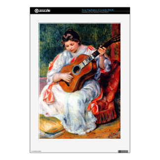 Guitarist by Pierre Renoir Skin For The PS3