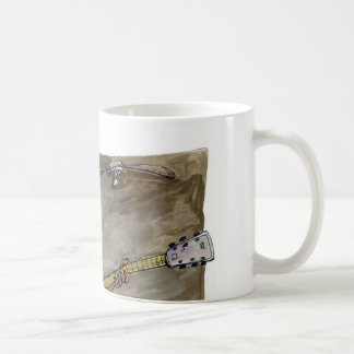 guitarist coffee mug