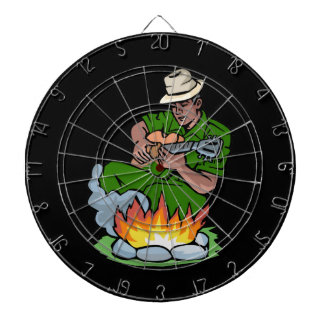 guitarist dark skin green shirt by fire.png dartboard