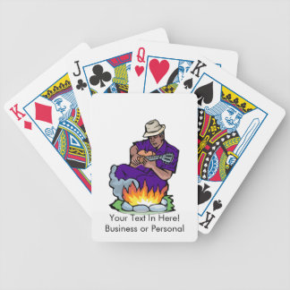 guitarist dark skin purple shirt by fire.png bicycle playing cards