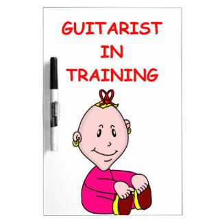 guitarist Dry-Erase whiteboards