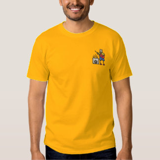 Guitarist Embroidered T-Shirt