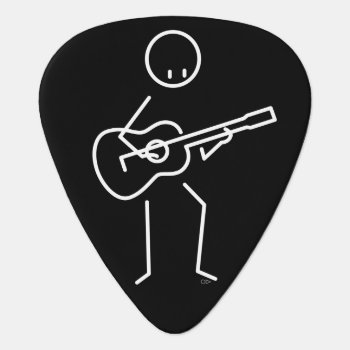 Guitarist Guitar Pick by frankemargrete at Zazzle