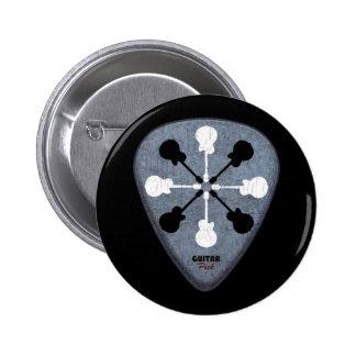 guitarist ideas pinback button