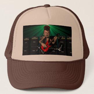 Guitarist in Flight Hat