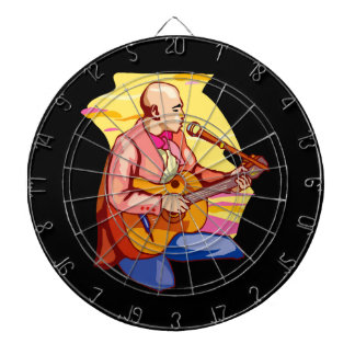 guitarist kneeling bald singing.png dartboard with darts