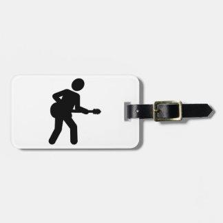 Guitarist Bag Tag