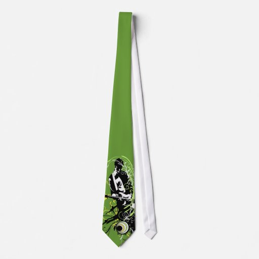 Guitarist Music Tie! Great for Music Lovers Tie