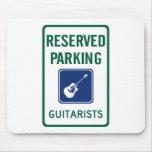 Guitarist Parking Mousepad