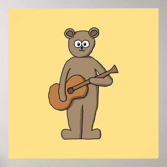 Guitarist. Poster
