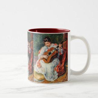 Guitarist Two-Tone Coffee Mug