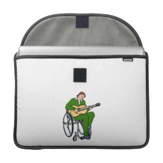 guitarist wheelchair graphic green.png MacBook pro sleeves
