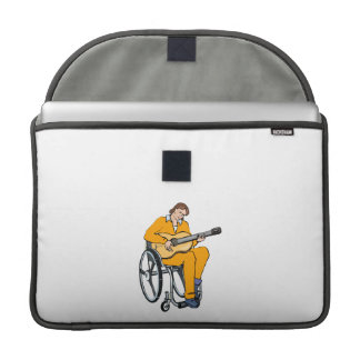 guitarist wheelchair graphic orange.png sleeves for MacBooks
