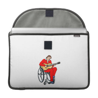 guitarist wheelchair graphic red.png sleeves for MacBook pro
