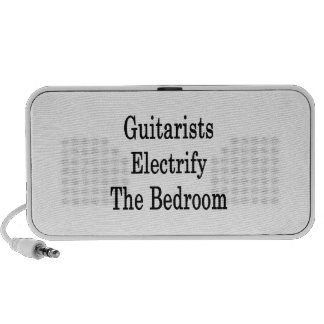 Guitarists Electrify The Bedroom iPhone Speaker