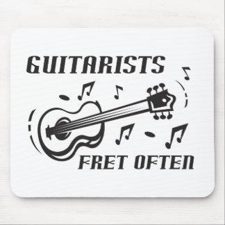 Guitarists Fret Often Mouse Pad