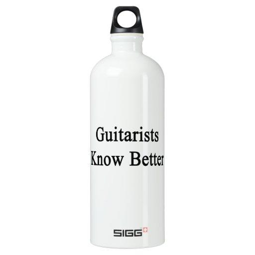 Guitarists Know Better SIGG Traveler 1.0L Water Bottle