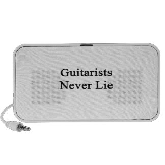 Guitarists Never Lie Travel Speakers