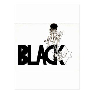 guitarman blackstar postcard