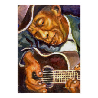 Guitarman Print
