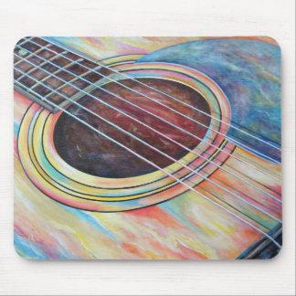 Guitarra 2 alfombrilla de ratones
