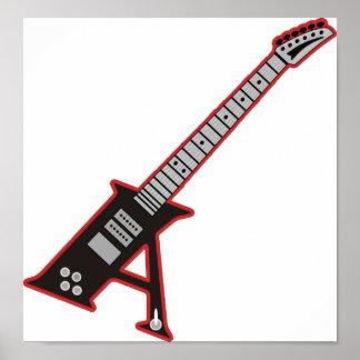 Guitarra A Póster
