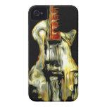 Guitarra abstracta Case-Mate iPhone 4 protector