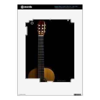 Guitarra acústica 2 iPad 3 pegatina skin