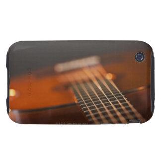 Guitarra acústica 4 carcasa resistente para iPhone