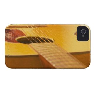 Guitarra acústica 5 carcasa para iPhone 4 de Case-Mate